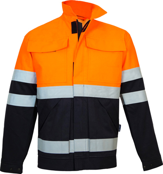 FR, Arc, Anti Static, High Visibility,  Work Jacket JWK004