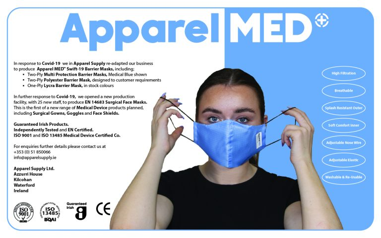 PPE Supplement Mask Info